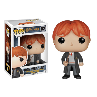 Harry Potter Ron Weasley Pop! Vinyl Figure - Accio This