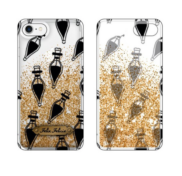 Harry Potter Harry Potter Felix Felicis Gold Glitter Phone Case - Accio This