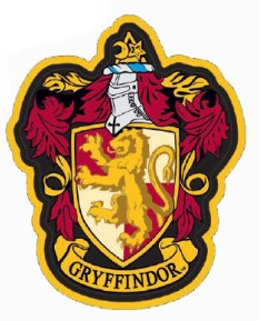 Harry Potter Gryffindor Crest Soft Touch Magnet - Accio This