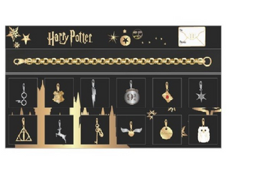 Harry Potter Harry Potter Advent Calendar Multi Charm Bracelet - Accio This