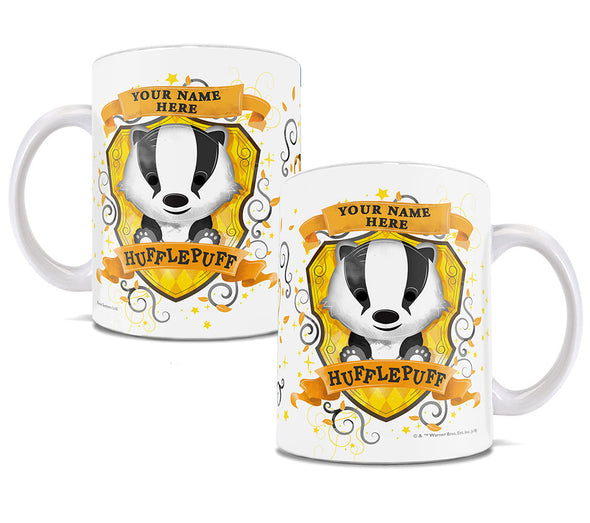 Harry Potter Personalized Chibi Hufflepuff Mug - Accio This