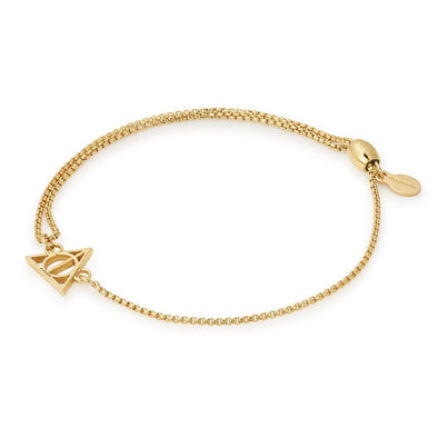 Harry Potter ALEX AND ANI HARRY POTTER DEATHLY HALLOWS Pull Chain Bracelet - Accio This