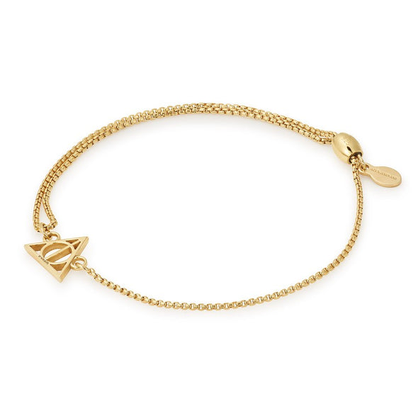ALEX AND ANI HARRY POTTER DEATHLY HALLOWS Pull Chain Bracelet