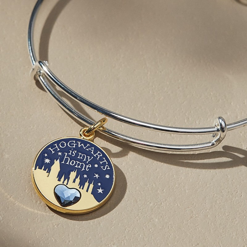 4074c5ce0 ALEX AND ANI HARRY POTTER Hogwarts is My Home Two Tone Charm Bangle – Accio  This