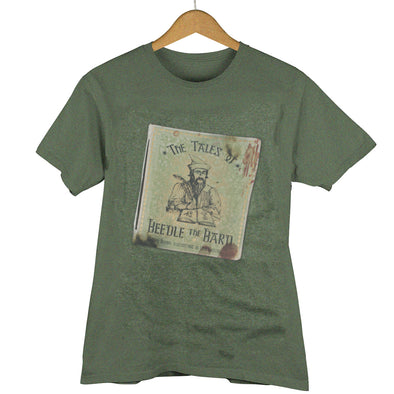 Harry Potter Beedle The Bard Unisex Heather Shirt - Accio This