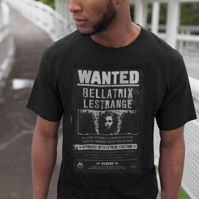 Harry Potter Bellatrix Wanted Unisex T-Shirt - Accio This