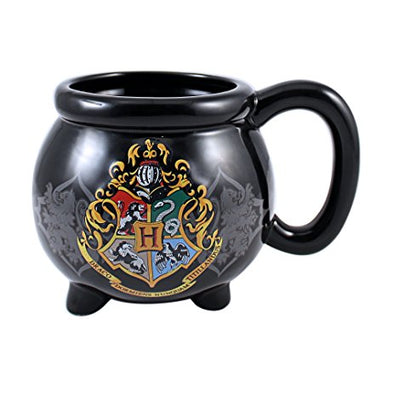 Harry Potter Hogwarts Crest Cauldron Molded Ceramic Mug - Accio This