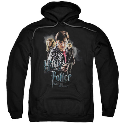 Harry Potter Deathly Hollows Cast Unisex Pullover Hoodie - Accio This