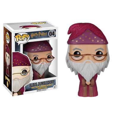 Harry Potter Albus Dumbledore Pop! Vinyl Figure - Accio This