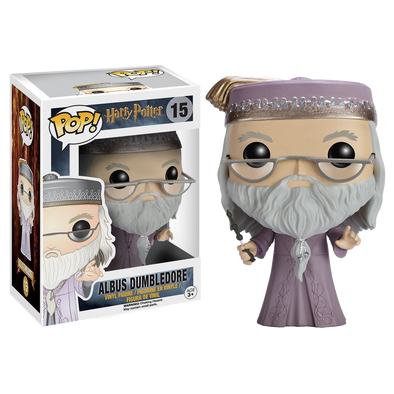 Harry Potter Dumbledore with Wand Pop! Vinyl Figure - Accio This