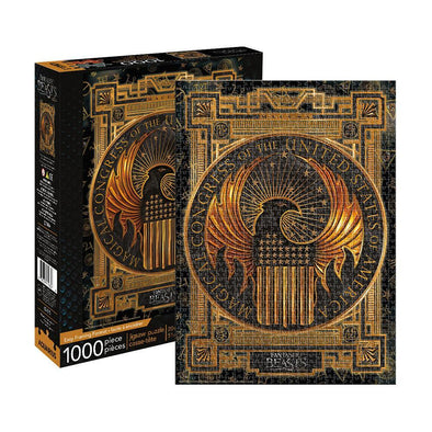 Harry Potter Fantastic Beasts MACUSA 1,000-Piece Puzzle - Accio This