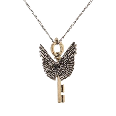 Harry Potter Flying Key Necklace - Accio This