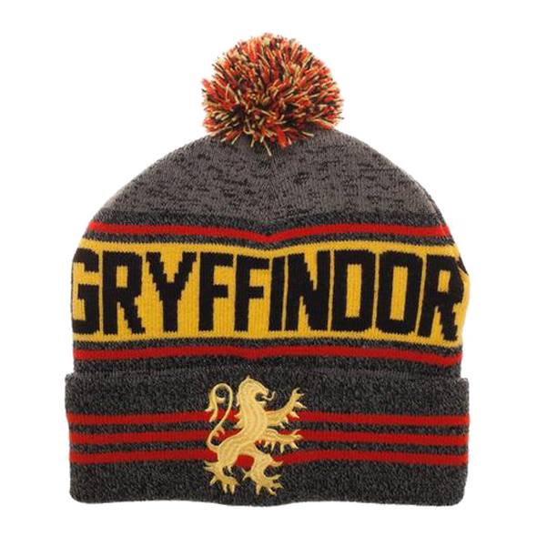 Harry Potter Gryffindor Rolled Knit Beanie - Accio This