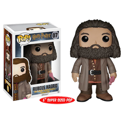Harry Potter Rubeus Hagrid Pop! Vinyl Figure - Accio This