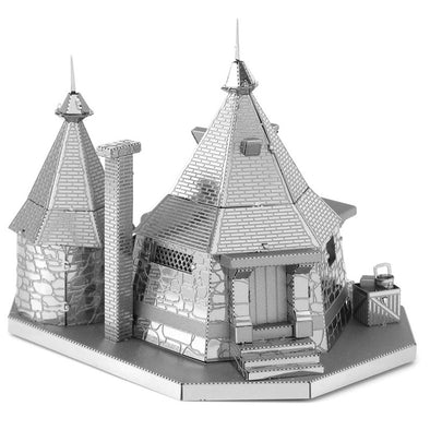 Harry Potter Rubeus Hagrid's Hut Metal Earth Model Kits - Accio This