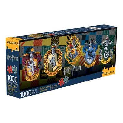 Harry Potter House Crests 1000-Piece Slim Puzzle - Accio This