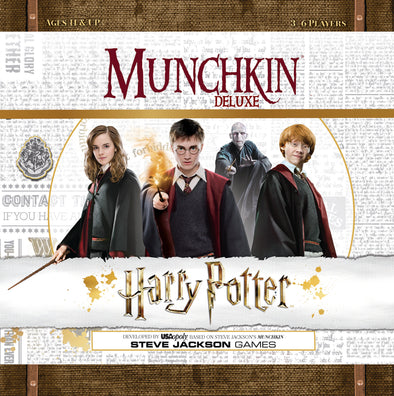 Harry Potter Munchkin Deluxe Harry Potter - Accio This