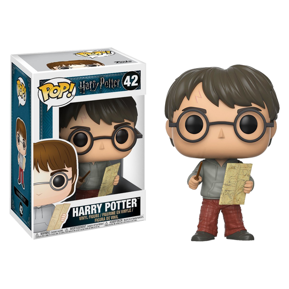 Harry Potter Harry Potter with Marauders Map Pop! Vinyl Figure - Accio This