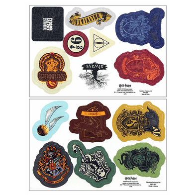 Harry Potter NEW- Iron-On Patches 14-Pack - Accio This