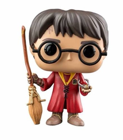 Harry Potter Harry Potter Quidditch Harry Pop! Vinyl Figure - Accio This