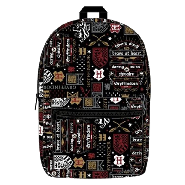 Harry Potter Gryffindor Icon Backpack - Accio This
