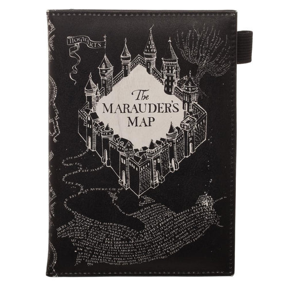 Harry Potter Marauders Map Travel Passport Wallet - Accio This