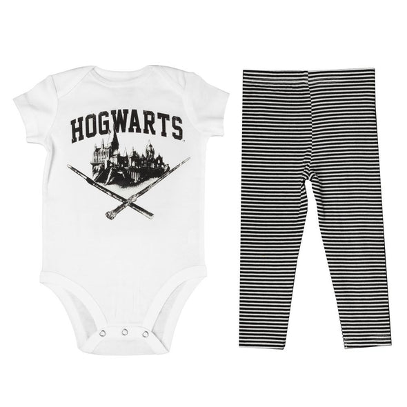Harry Potter Hogwarts Baby Onesie and Legging Set - Accio This