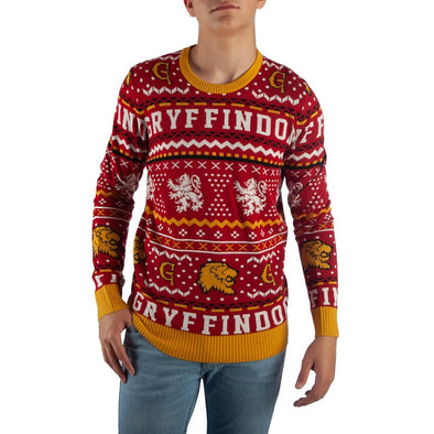 Harry Potter Gryffindor Knit Sweater - Accio This