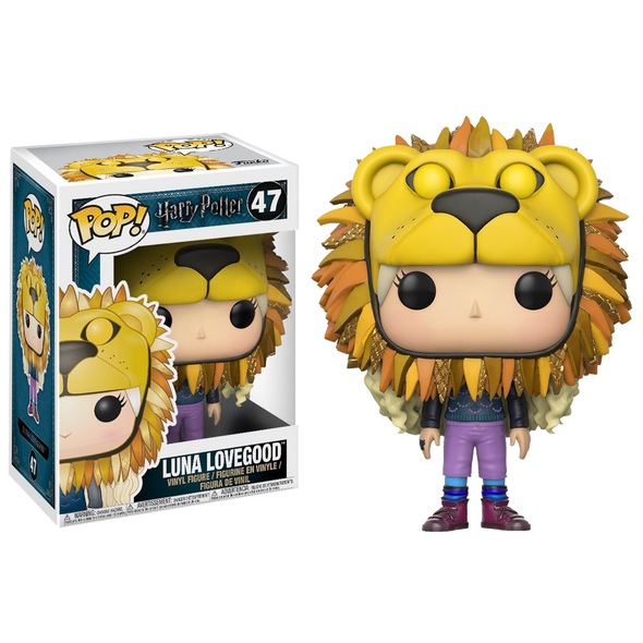 Harry Potter Luna Lovegood Lion Head Pop! Vinyl - Accio This
