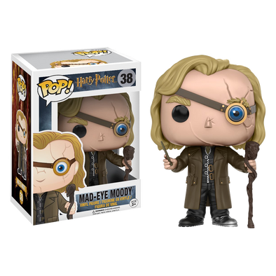 Harry Potter Mad-Eye Moody Pop! Vinyl Figure - Accio This