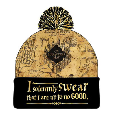 Harry Potter Marauders Map Beanie - Accio This