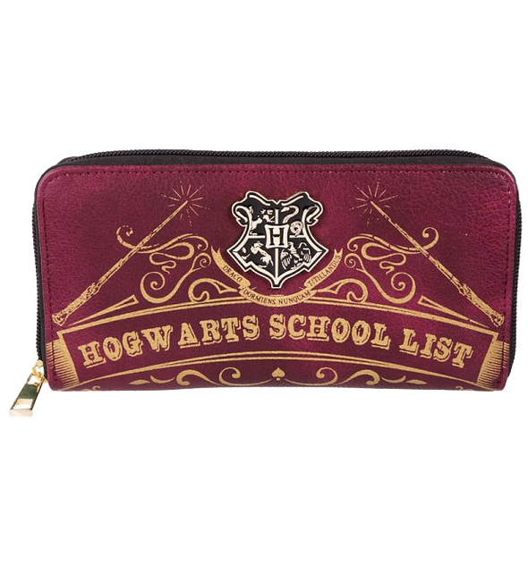 Harry Potter Hogwarts School List Wallet - Accio This