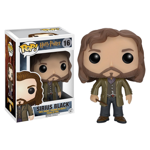 Harry Potter Sirius Black Pop! Vinyl Figure - Accio This