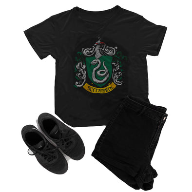 Harry Potter Slytherin Crest Shirt - Accio This