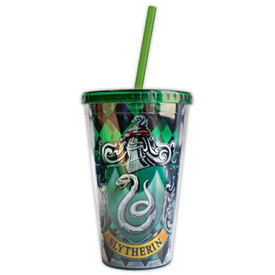 Harry Potter Slytherin House Crest Travel Cup - Accio This