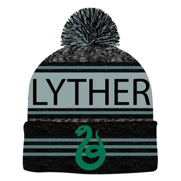 Harry Potter Slytherin Pom Beanie - Accio This