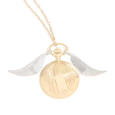 Harry Potter Harry Potter Golden Snitch Necklace Watch - Accio This