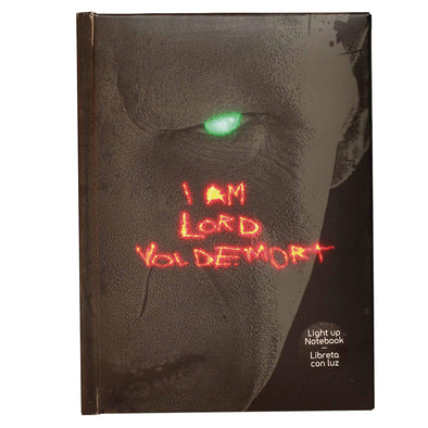 Harry Potter Lord Voldemort Light Up Notebook - Accio This