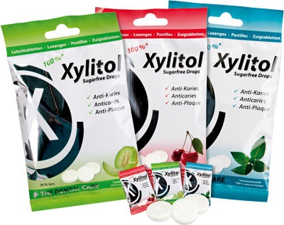 Xylitol Drops melone 60G 26St