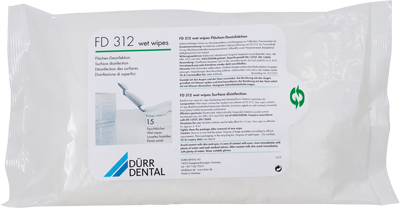 FD 312 Wet Wipes Feuchtt. 15St