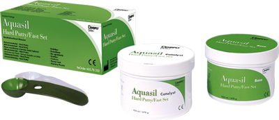 Aquasil hard Putty Fast Set 8x450ml