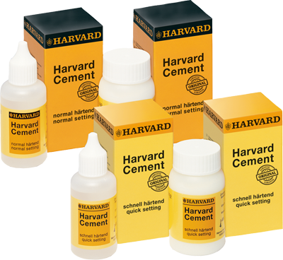 Harvard Cement nh 4 hellgelb 100gr