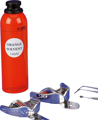 Orange Solvent 250ml Ds