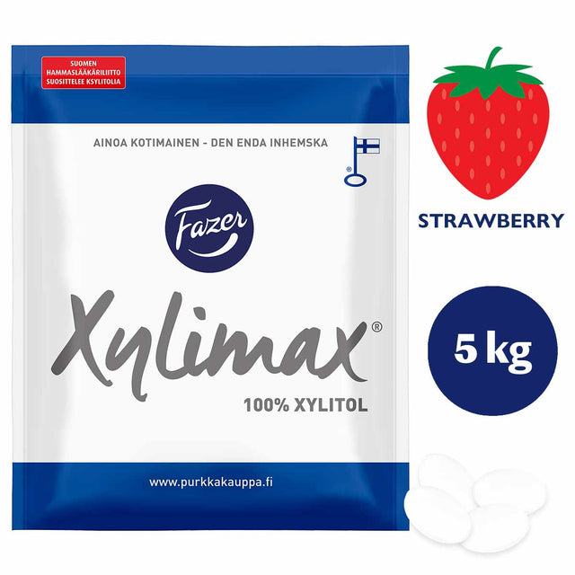 Xylimax Smultron Helxylitol Pastiller 5 kg