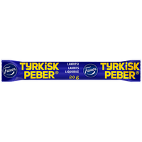 Tyrkisk Peber lakrits 20 g - Fazer Candy Store
