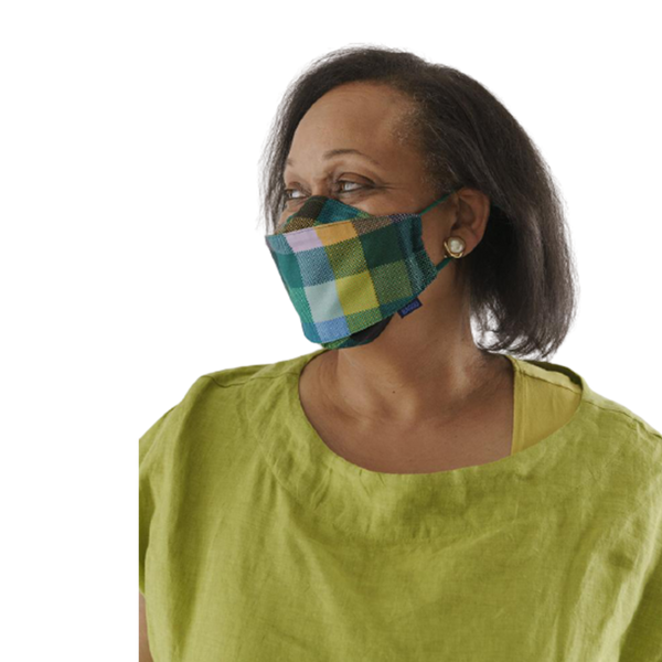 Fabric Mask Set Loop - Madras