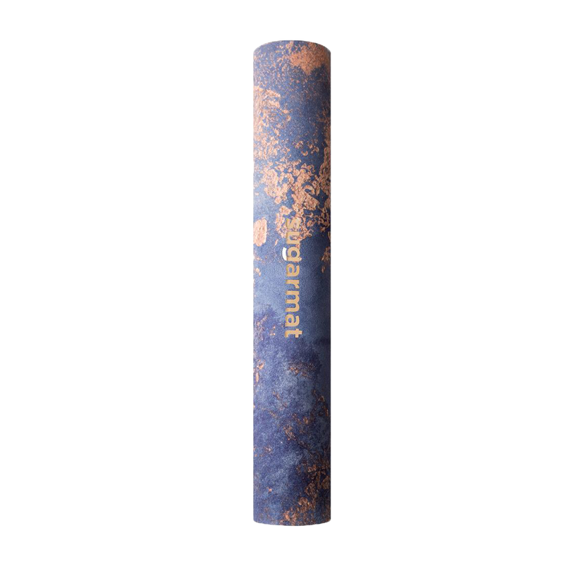 Dream Catcher No.3 Blue Suede Yoga Mat - (3MM)