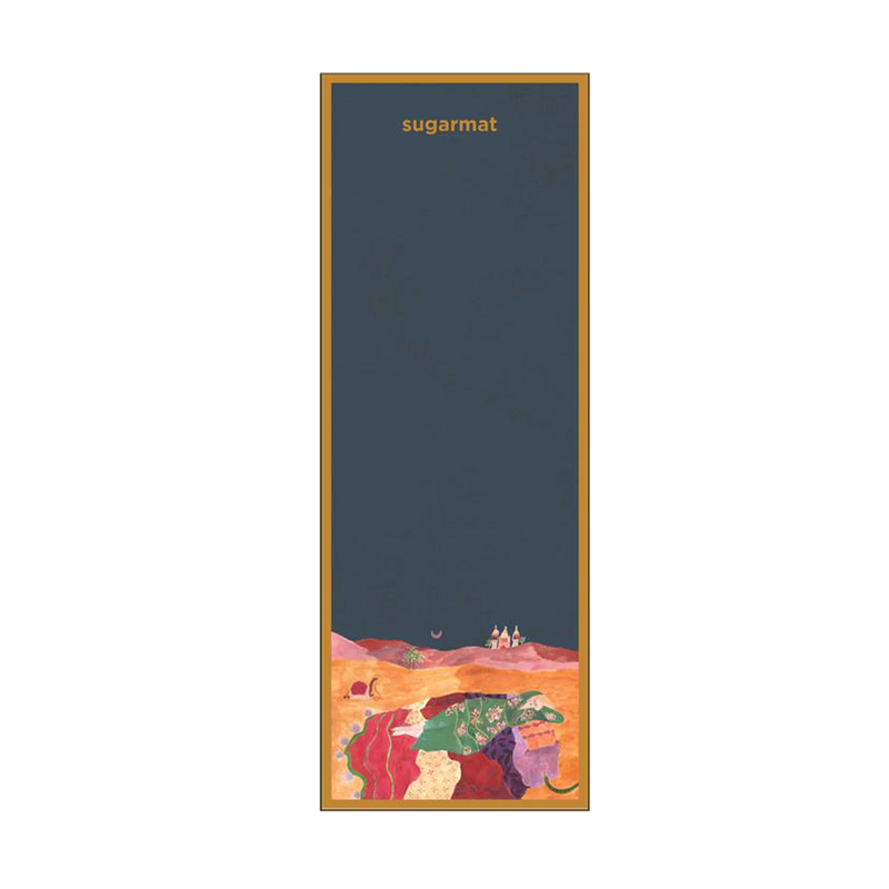 Desert Dreaming - Suede Travel Yoga Mat (1MM)