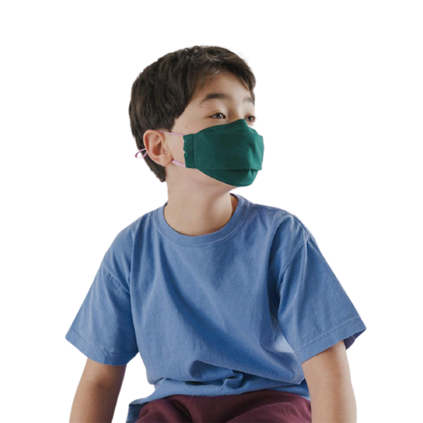 Kids Fabric Mask Set Loop - Juniper