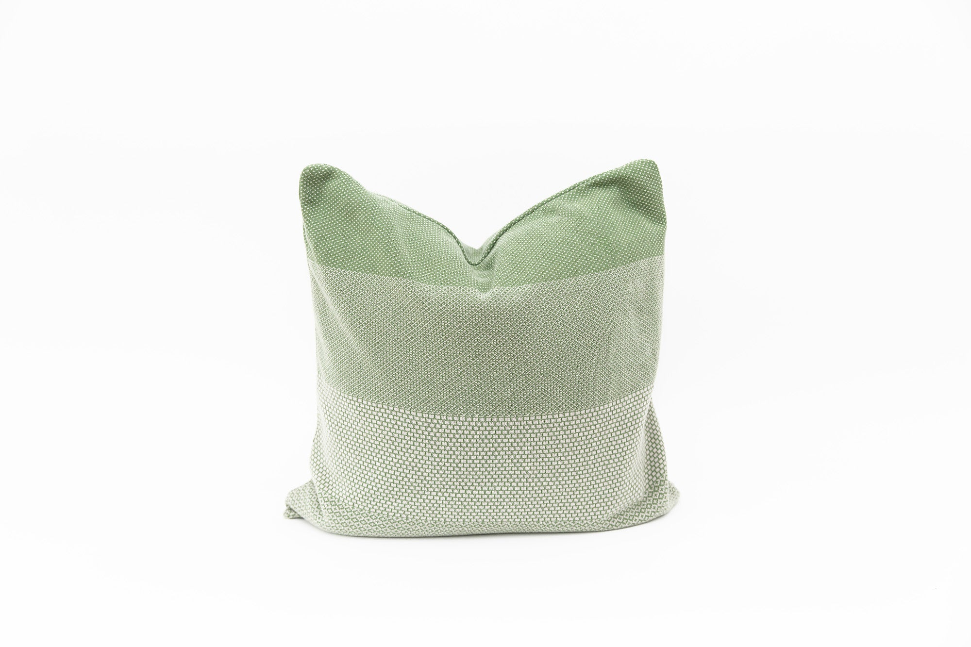 Elephant Cushion - Green
